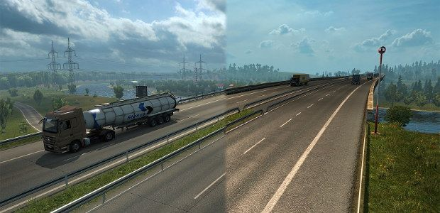 Euro Truck Simulator 2 revamping Germany now, rest of the map later