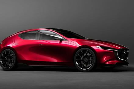 2019 Mazda3 previews with a rockin' concept body and a futuristic engine
