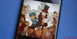 'Professor Layton and the Curious Village' is coming to the iPhone
