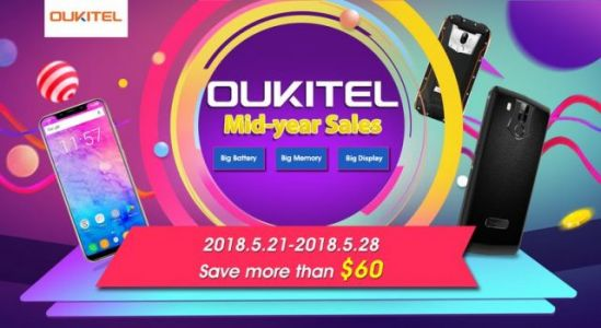 OUKITEL sid-year sales are here with offers from the Banggood e-shop