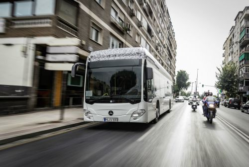 Mercedes' ubiquitous city bus is going electric in 2018
