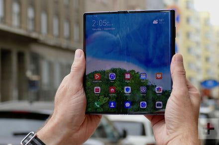 Huawei Mate X arrives in China as firm celebrates record total phone shipments