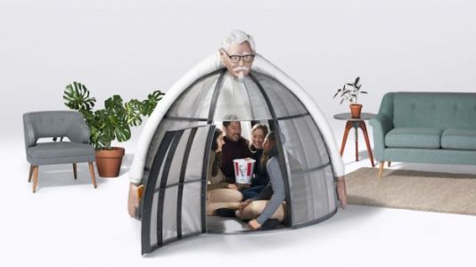 De-Stress During the Holidays in KFC's 'Internet Escape Pod'