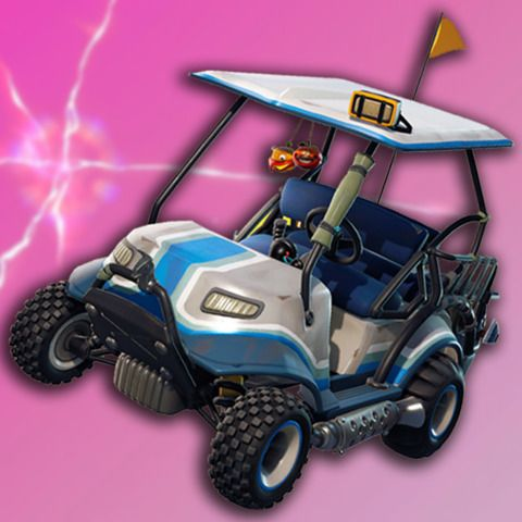 Fortnite: Watch Season 5's New Golf Cart, The All-Terrain Kart, In Action