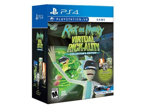 Rick and Morty is finally coming to PlayStation VR on April 10