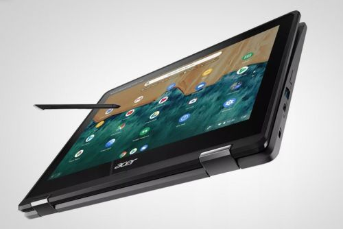 Why did Acer put a camera on the bum of its new Chromebook?