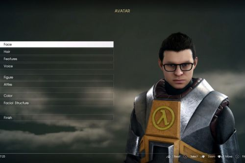 You can dress up as Half-Life's Gordon Freeman in FFXV on PC