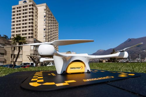 Swiss drone crashes near children, forcing suspension of delivery program