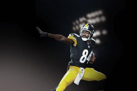 Pittsburgh Steelers' Antonio Brown dances his way to 'Madden NFL 19' cover