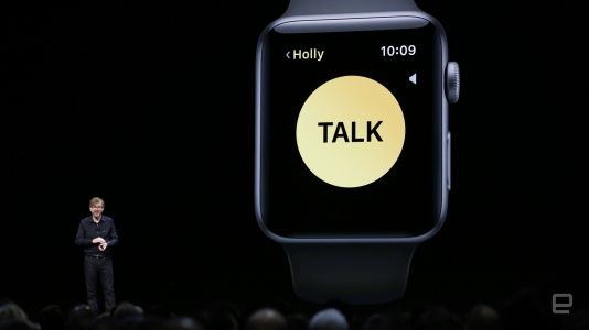 Apple Watch will put a Walkie Talkie on your wrist