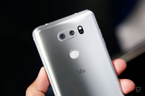 Engadget giveaway: Win an LG V30 smartphone!