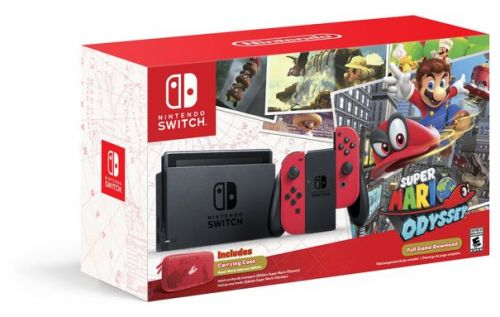 Nintendo Switch Super Mario Odyssey bundle drops on October 27
