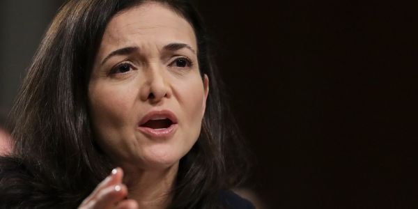 Facebook's board backs COO Sheryl Sandberg over her calls to investigate George Soros