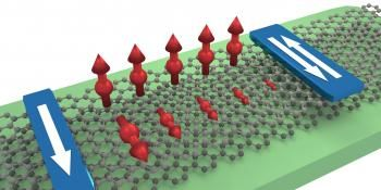 Graphene Bilayer Transports, Controls Spin