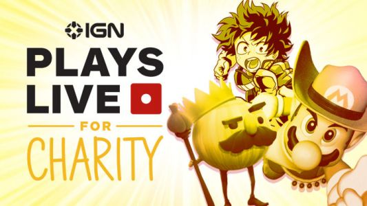 Childhood Cancer Awareness - IGN Plays Live for Charity Today