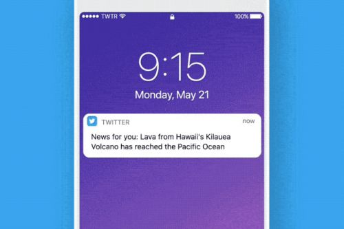Twitter is putting more live news events in your timeline and notifications