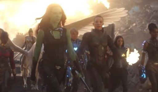 The A-Force Assembles in Awesome AVENGERS: ENDGAME Behind the Scenes Photo