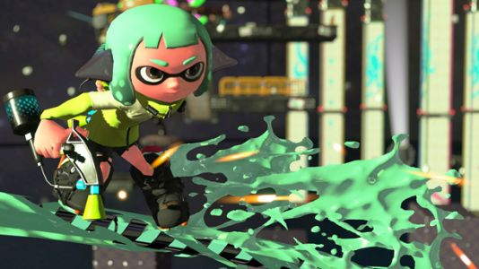 Kelp Dome Returns In Splatoon 2, Along With New Stage And New Umbrella-Style Weapon