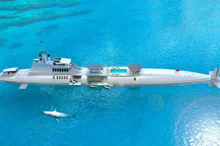 Live like a Bond villain on Migaloo, the world's largest submersible super yacht