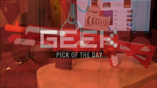GEEK PICK OF THE DAY: Buzz Bee Thermal Hunter
