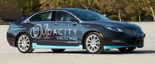 Udacity adds a new 'Intro to Self-Driving Cars' Nanodegree