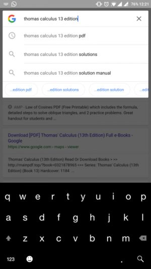 Google App Search Suggestions May Get A Small Visual Tweak