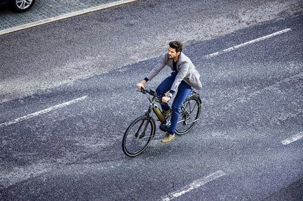 Take to the streets with Gazelle's CityZen ebike for urban commuters