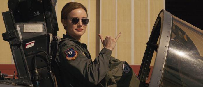 Captain Marvel Trailer Has Badass Brie Larson And Her Cat