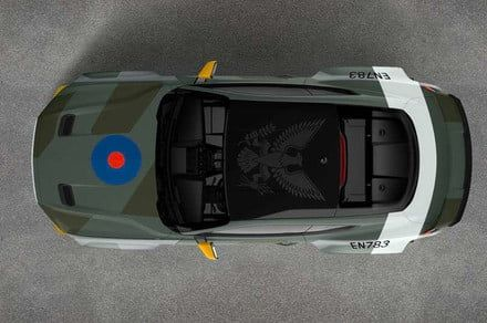 Ford will auction off this Mustang inspired by RAF fighters from WWII