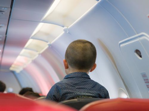 There's a growing movement to force kids to sit in a separate section on airplanes