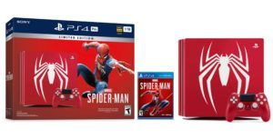 Sony announces limited edition Spider-Man PlayStation 4 Pro