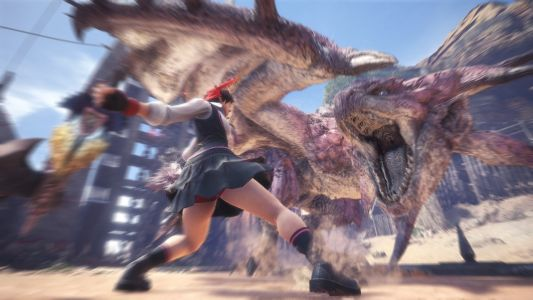 Monster Hunter World's Sakura From Street Fighter Armor Arrives On May 3