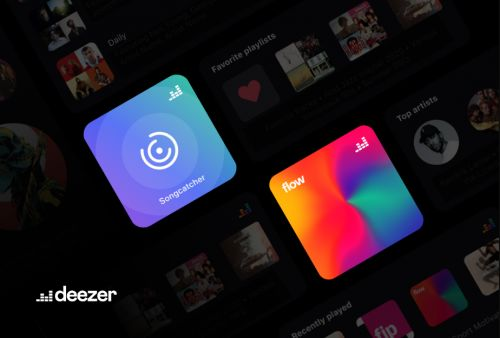 Deezer's New Songcatcher and Flow Widgets-Get Your Tunes in iOS 14 Served Up Fast!