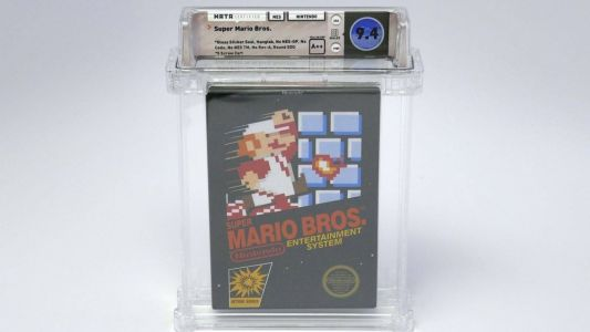 Sealed Copy of SUPER MARIO BROS. Recently Sold for Six Figures