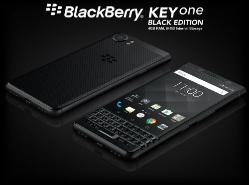 BlackBerry KEYone Black Edition coming to Canada beginning as soon as next week