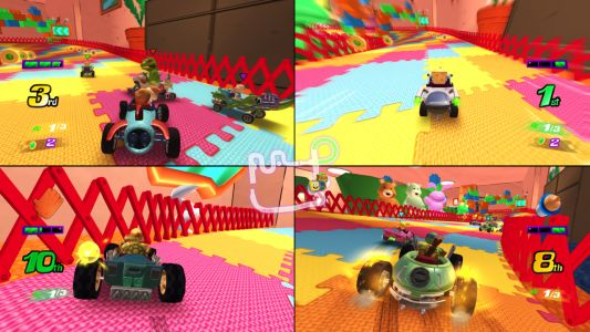 Mario Kart-Inspired Game With Nickelodeon Characters Announced