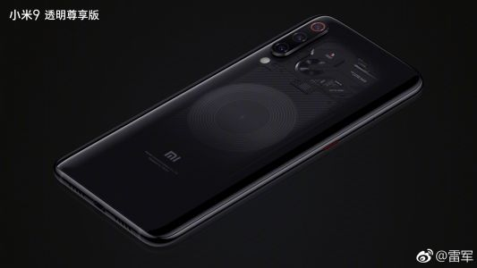 Xiaomi to release Transparent Edition of the Mi 9 with 12GB of RAM, upgraded camera