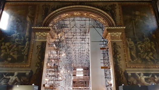 """The UK's """"Sistine Chapel"""" - Greenwich's Painted Hall to reopen in March"""