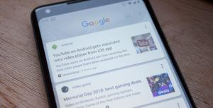 Google is reportedly testing advertisements in the Google Feed
