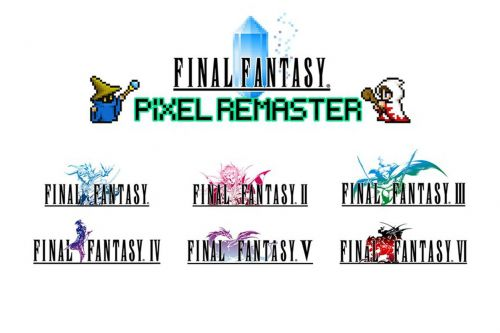 Final Fantasy 1-6 are being rereleased for new 'pixel remaster series'