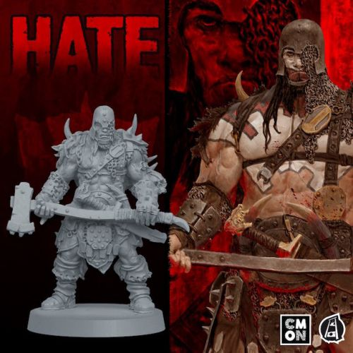 Adrian Smith's R-Rated Graphic Novel Hits the Tabletop In HATE the Board Game