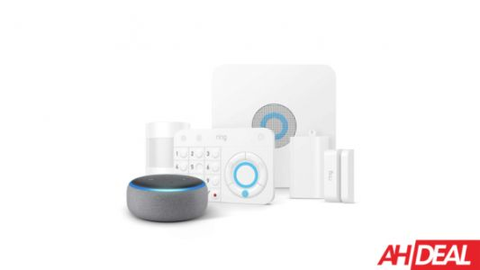 Amazon Is Bundling A Free Echo Dot With The 8-Piece Ring Alarm