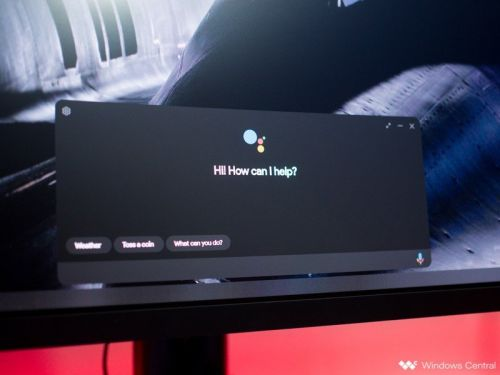 Google Assistant is now available on Windows 10 with an unofficial client