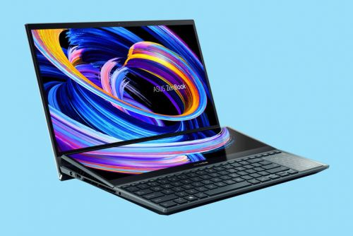 Asus ZenBook Duo revamp raises the second screen so it's easier to see