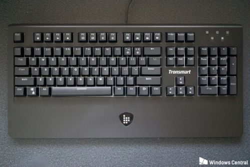 Tronsmart's TK09R is a budget mechanical keyboard with built-in storage