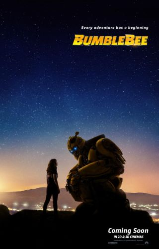 Transformers Spin-off Bumblebee's New Poster Is Full Of Stars