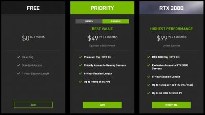 NVIDIA GeForce Now game streaming adds RTX 3080 power for 1440p gaming at 120 fps