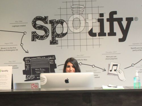Employees at Spotify rarely work the same job for more than two years - and the CEO says that's on purpose