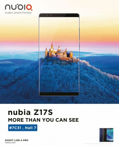 Nubia To Show Off New Tech & Smartphones At MWC 2018