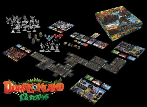 12 Realms: Dungeonland Late Pledges Now Available